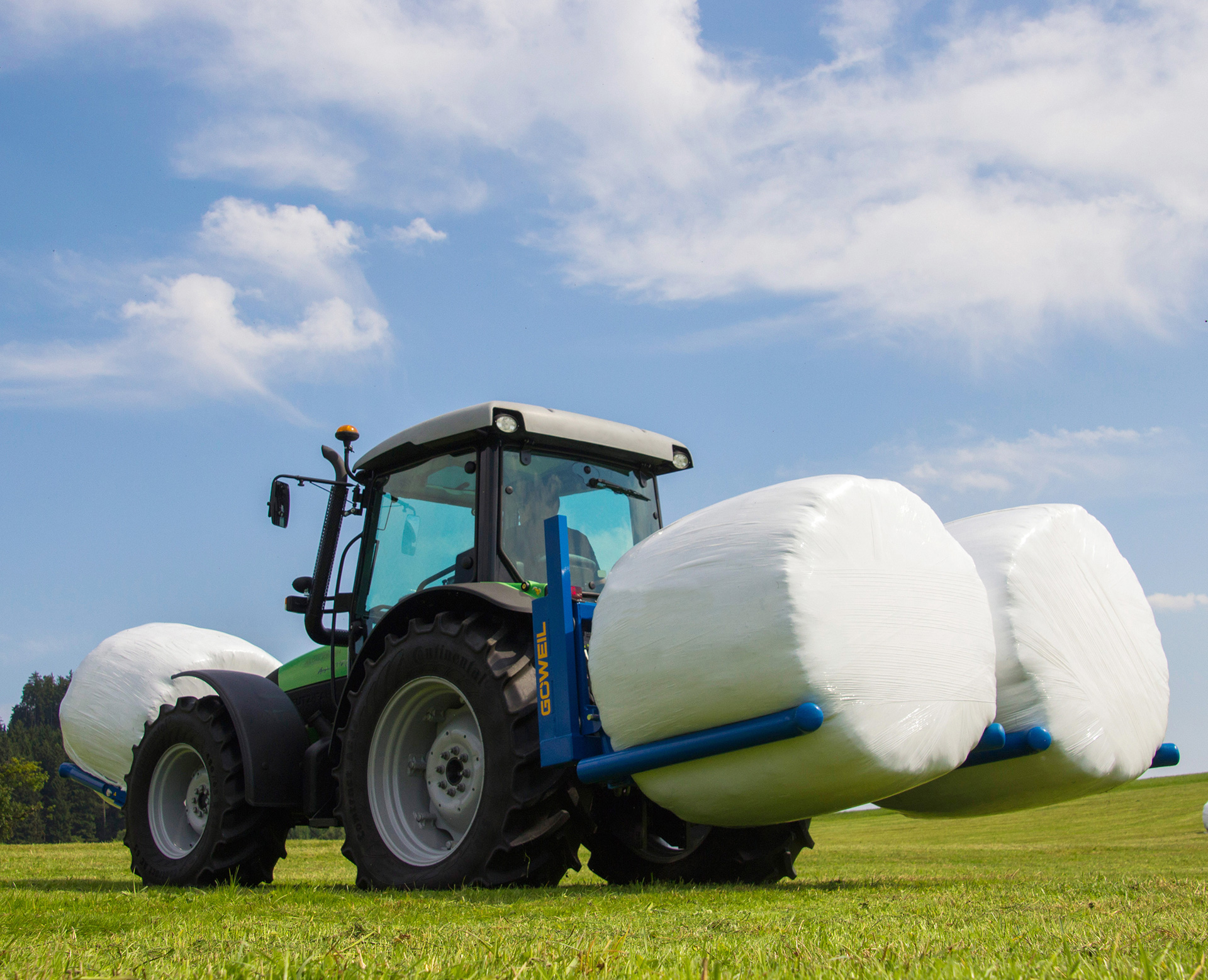 BALE TRANSPORT DEVICES